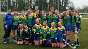 Winning U14 Girls Feile Team 2016