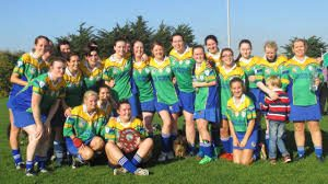 Clanna Gael Fontenoy Camogie Team Winners of Senior 4 Shield