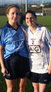 Rebecca McDonnell and Rachael Byrne Senior Dublin Star Players