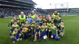 Clanna Gael U10 Hurling Team in Croke Park