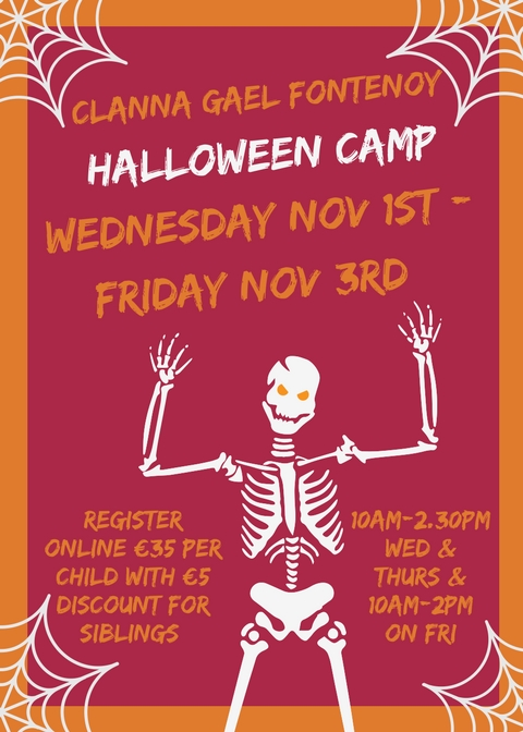 Clanna Gael Fontenoy Halloween Camp