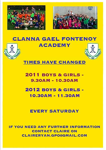2016/7 Academy Times Clanna Gael Fontenoy