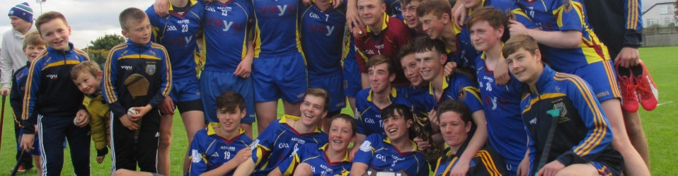 U16 Hurling Champions