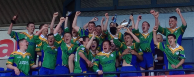 U16 Footballers lift the Cup
