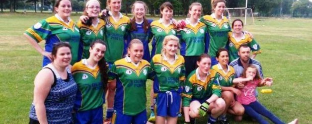 Junior ladies show real spirit in victory