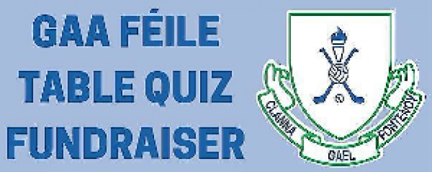 Feile Table Quiz -Thank you for the support