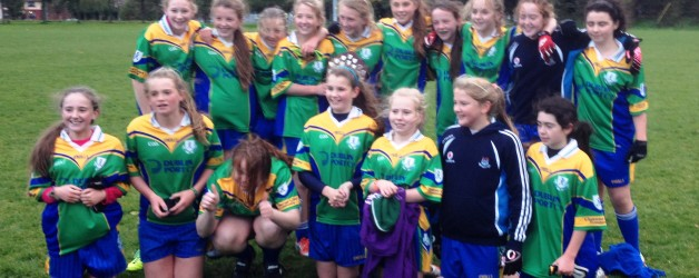 U13 Girls lift the Shield  (3 in a row)
